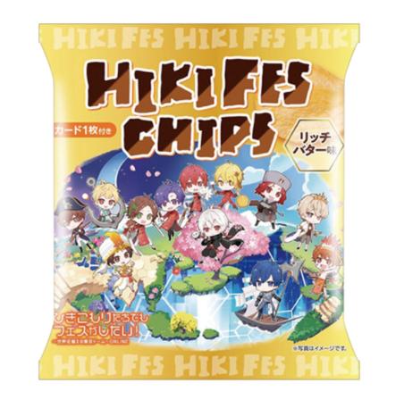ファミリーマート 山芳 ひきフェスチップス リッチバター味