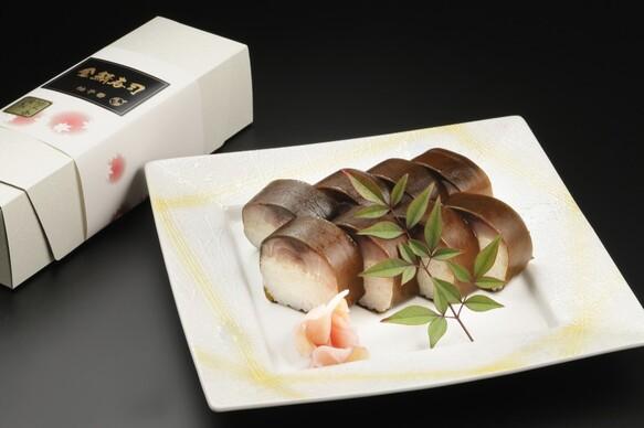 金華鯖の「金鯖寿司」