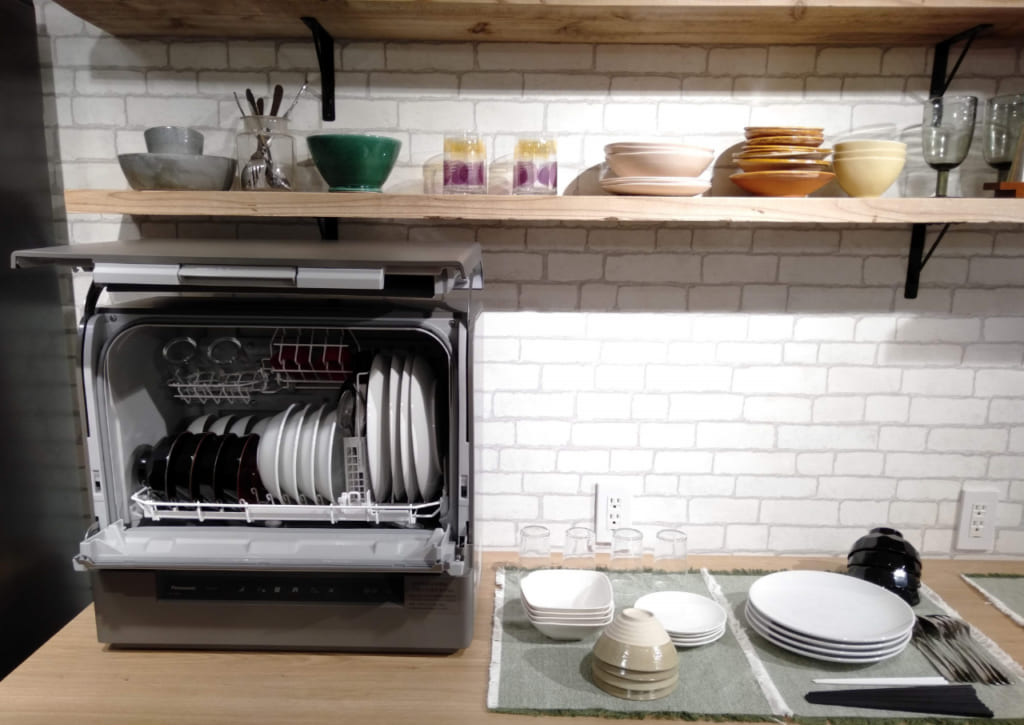パナソニック食器洗い乾燥機「スリム食洗機」