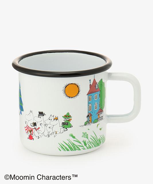 【Afternoon Tea LIVING 人気ランキング】「マグカップ」 7位 muurla/ムーミンホーローマグカップL