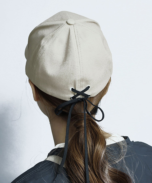 【3COINS<スリーコインズ> おすすめ商品】「帽子」8選 【小物で季節を取り入れる】バックレースアップキャップ