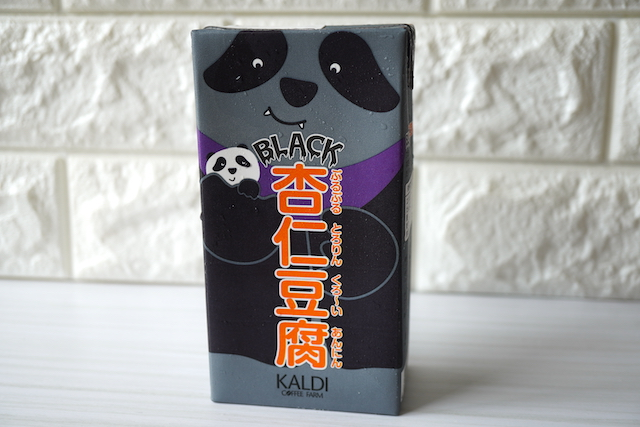 ブラック杏仁パッケージ