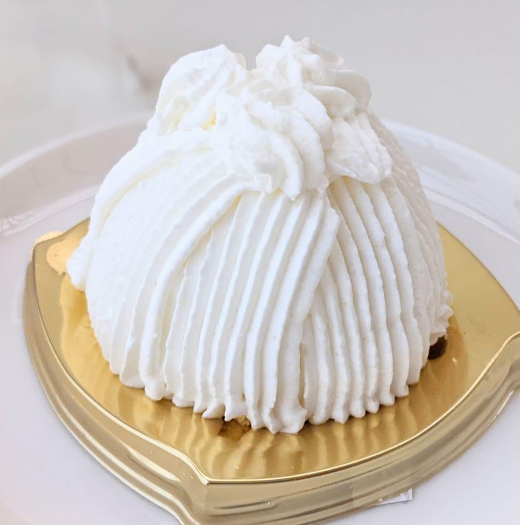 ミニストップ「ごろごろ栗の純白ケーキ」