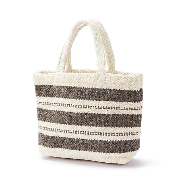 【無印良品 新商品】「服飾雑貨」8選 インドの手織り ミニトートバッグ(シェニール)生成柄