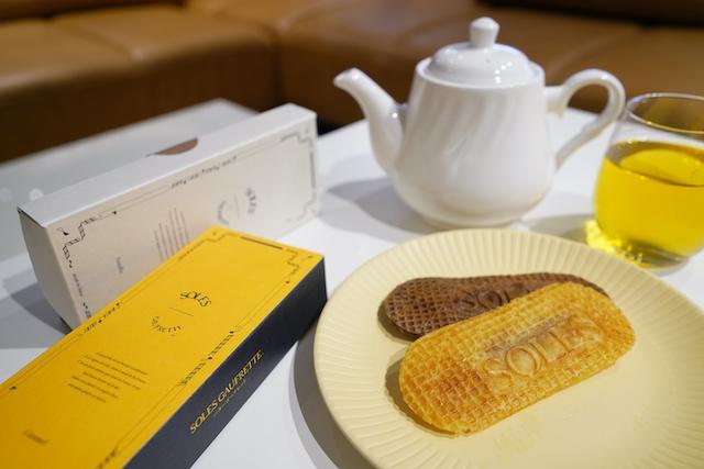 バターゴーフレット専門店「SOLES GAUFRETTE」の新フレーバー「キャラメル」