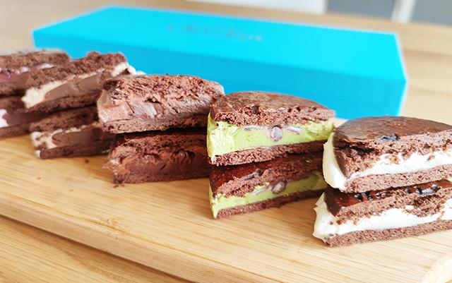 チョコレート専門店「tsumugi」のバターサンド「ショコラン 10個お試 しセット」